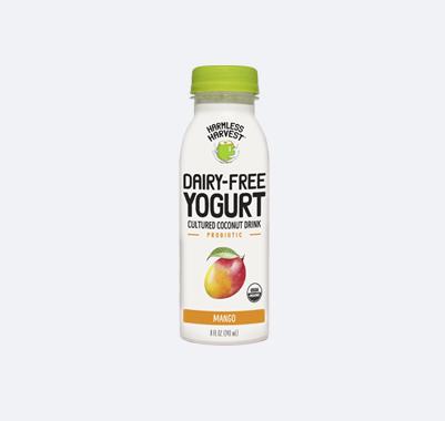 Harmless Harvest Dairy-Free Yogurt Drink 8oz bottle, Mango flavor