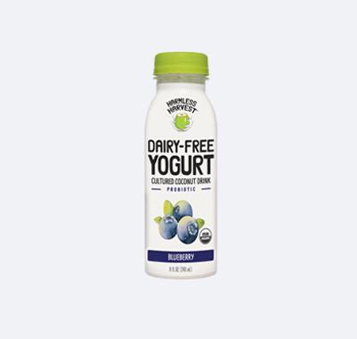 Harmless Harvest Dairy-Free Yogurt Drink 8oz bottle, Blueberry flavor