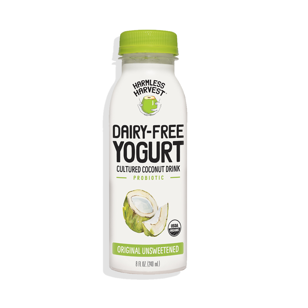 Harmless Harvest Dairy-Free Yogurt Drink 8oz bottle, Original flavor